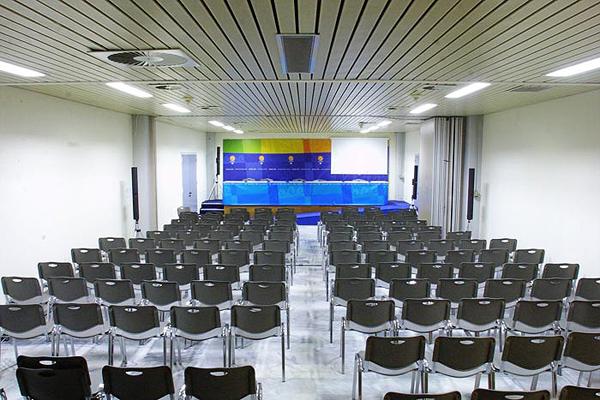 Αίθουσα Τύπου Κλειστού Κολυμβητηρίου