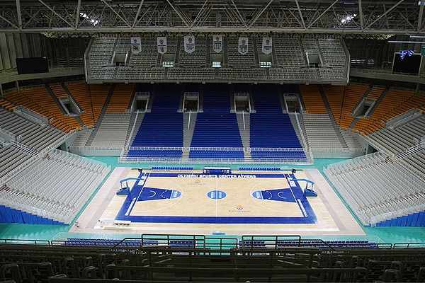 Indoor Basketball Arena