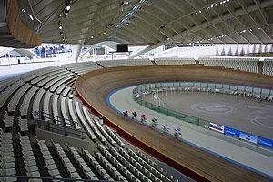 Ολυμπιακό Ποδηλατοδρόμιο εσωτερικό