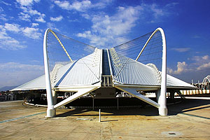 Ολυμπιακό Ποδηλατοδρόμιο εξωτερικός χώρος